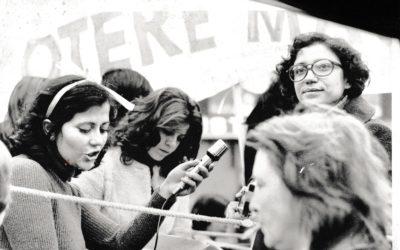 'Chiamatemi Fufi. Storia di una femminista' RaiRadio3 – TreSoldi – 5-8 marzo 2018