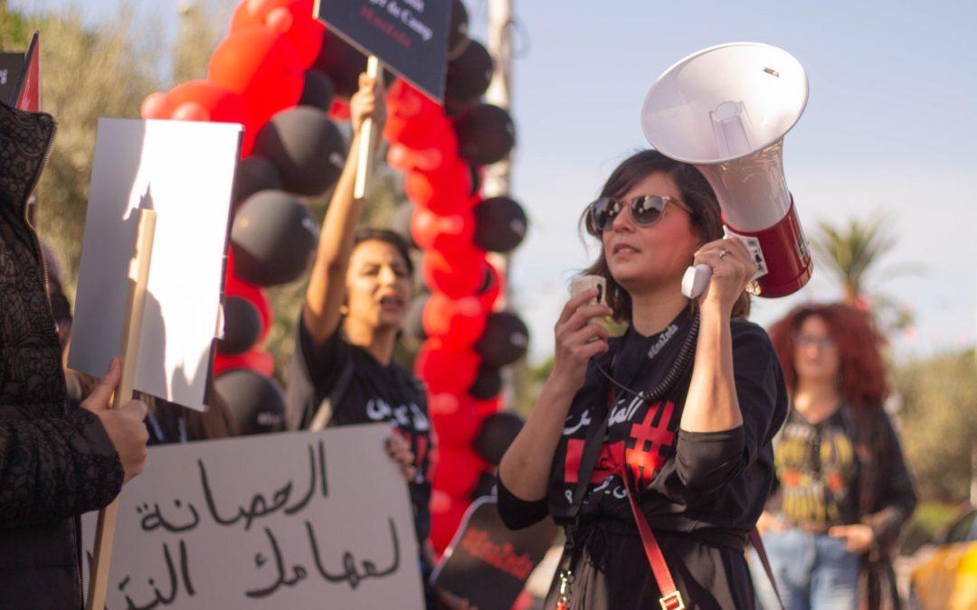 EnaZeda contro la violenza. Donne in piazza a Tunisi